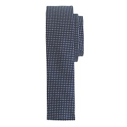 The Hill-side® indigo wabash polka dot pocket square