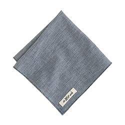 The Hill-side® selvedge indigo pocket square