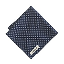 The Hill-side® wabash polka dot pocket square