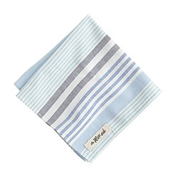 The Hill-side® multistripe oxford pocket square