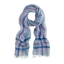Italian linen scarf