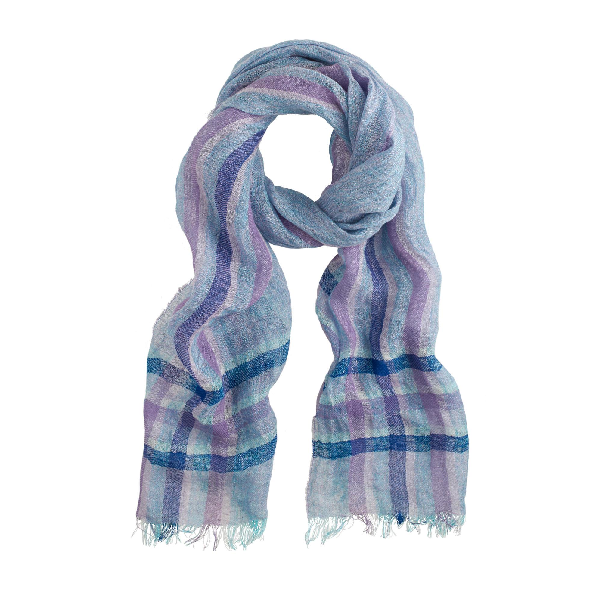 italian linen scarf j crew