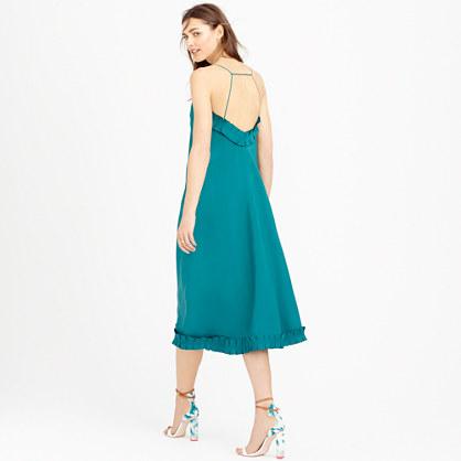 Collection ruffle-hem dress