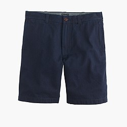 "9"" Stanton short in Japanese indigo chambray"