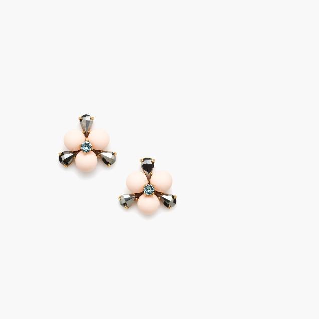 Pop floral earrings