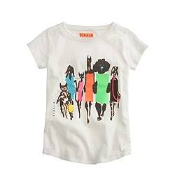 Girls' Donald Robertson™for crewcuts fashion animals T-shirt