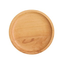 Wooden circle catchall
