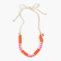 Girls' gumball necklace with fruit