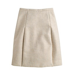Collection bonded linen skirt