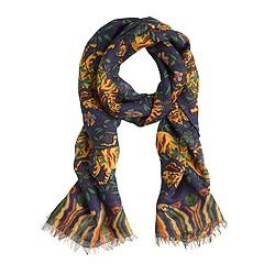 Drake's® tiger scarf