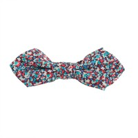 Boys' cotton bow tie in Liberty pepper floral