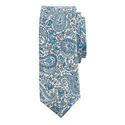 Boys' cotton tie in Charles Liberty print