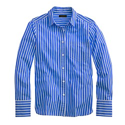 Vertical-striped shirt