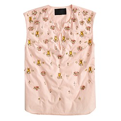 Collection embellished crystal top
