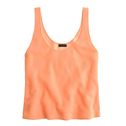 Collection cashmere swing tank top