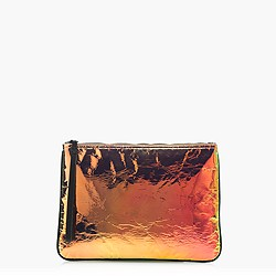 Iridescent hologram clutch