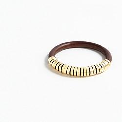 Wood abacus bracelet