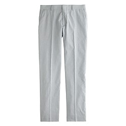 Ludlow suit pant in striped cotton