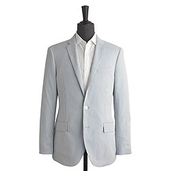 Ludlow suit jacket in striped cotton