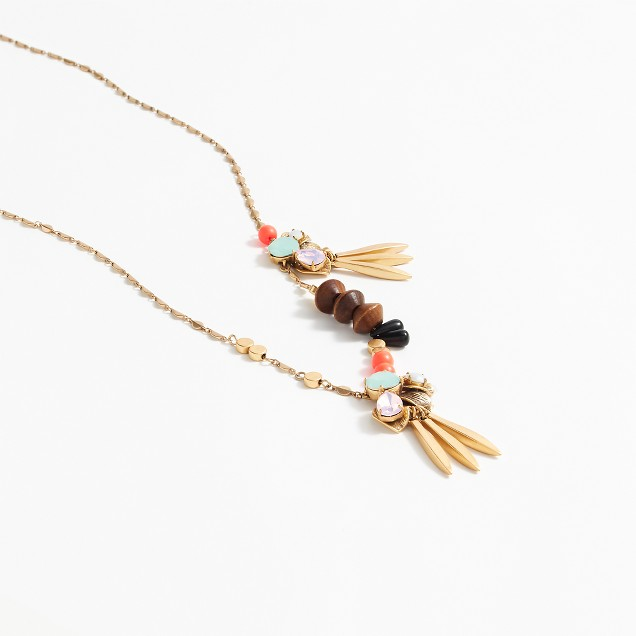 Multi-charm cluster necklace