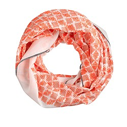 Embroidered diamonds infinity scarf