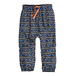 Girls' Edun® for J.Crew African printed drawstring pant
