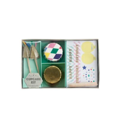 Kids' Meri Meri™ birthday cupcake kit
