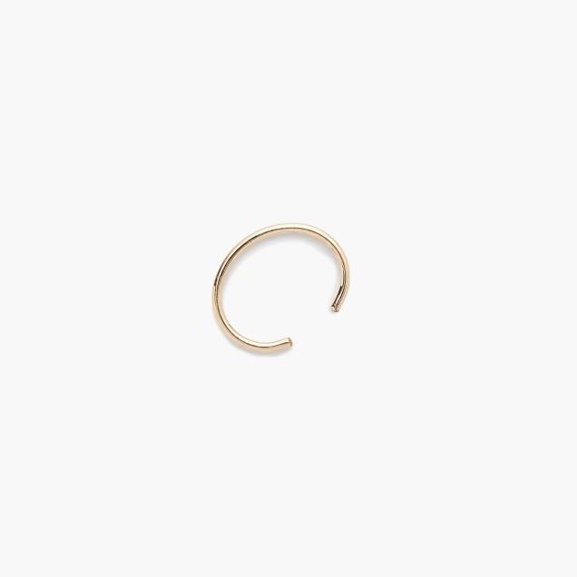Brvtvs™ 14k gold bar ear cuff