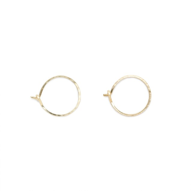 Catbird™ 14k gold hoop dreams earrings