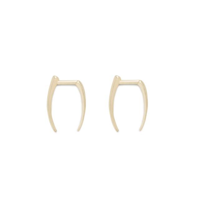 Gabriella Artigas® 14k gold infinite tusk earrings