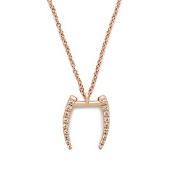 Gabriella Artigas® 14k gold mini signature tusk necklace