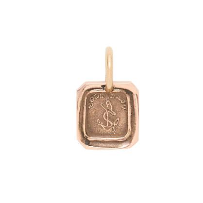 James Colarusso™ 14k gold hold fast pendant