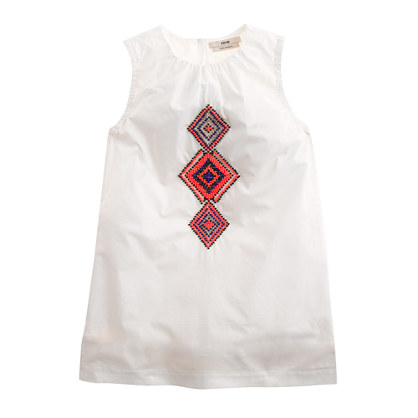 Girls' Edun® for J.Crew African beaded dress