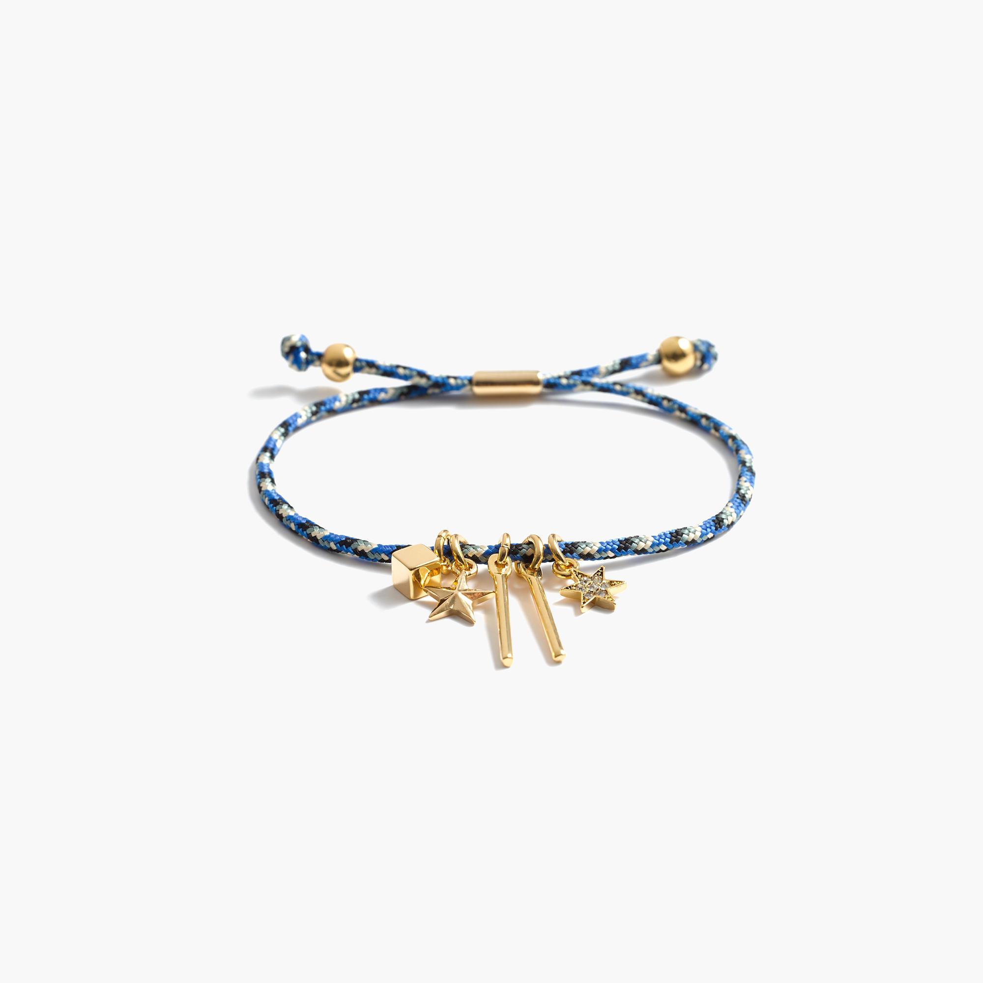cluster charm friendship bracelet j crew