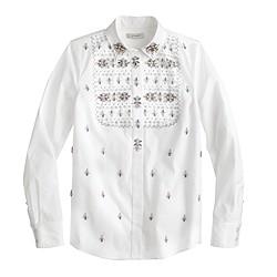 Collection Thomas Mason® for J.Crew embellished shirt