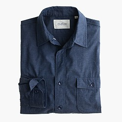 Shuttle Notes® indigo top-dyed shirt
