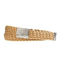 Nylon braided military belt