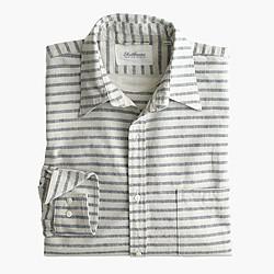 Shuttle Notes® indigo striped shirt