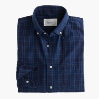 Shuttle Notes® indigo poplin shirt
