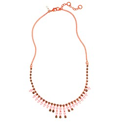 Girls' diamond chain necklace
