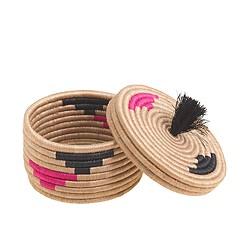 Indego Africa™ blush pom basket