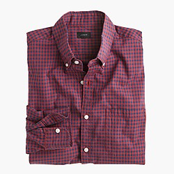 Secret Wash shirt in beachside gingham
