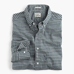 Secret Wash shirt in gingham