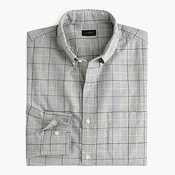 Secret Wash shirt in atlantic coast check