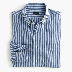 Slim Secret Wash shirt in bold stripe