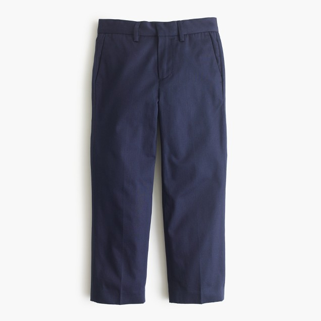 Boys' Italian chino suit pant in classic fit