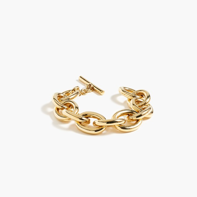 Rounded chain bracelet