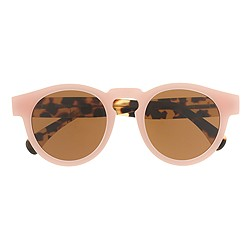 Illesteva™ for J.Crew Leonard sunglasses in pink tortoise