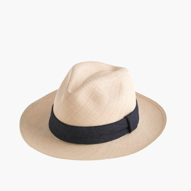 Paulmann™ panama hat with indigo band