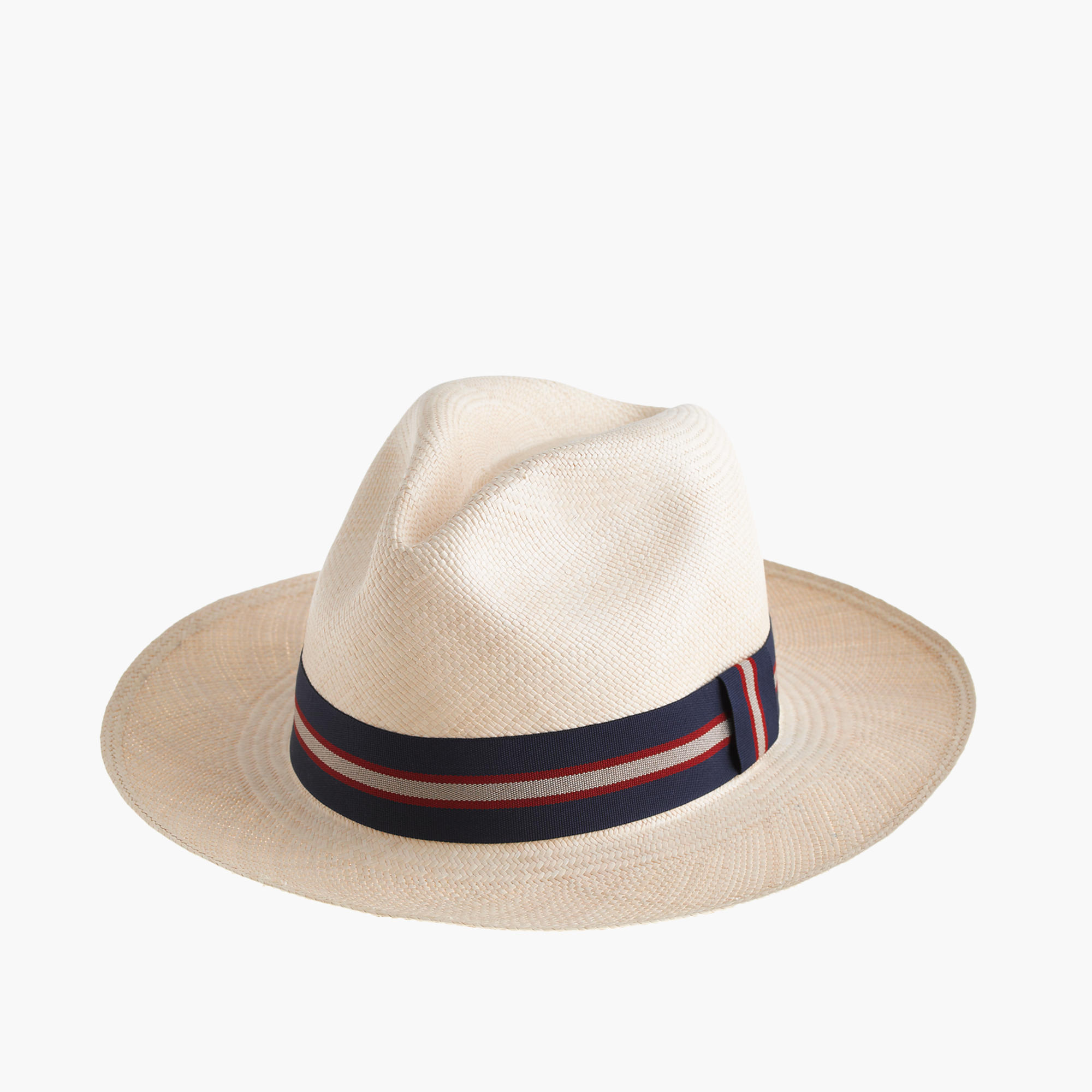 Paulmann Panama Hat With Striped Band : Men's Hats
